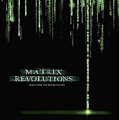 Matrix Revolutions: The Motion Picture Soundtrack [Clear Vinyl] 2LP